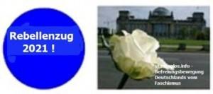 01.01.2021 - Blauer Punkt & weiße Rose - 2021 - bearbeitet
