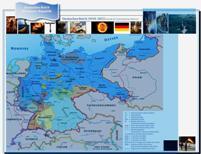 Karte Deutsches Reich - Weimarer Republik 1919-1933 - II
